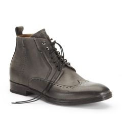 Self Re-Straint Leather Boot  - Boots - Kenneth Cole