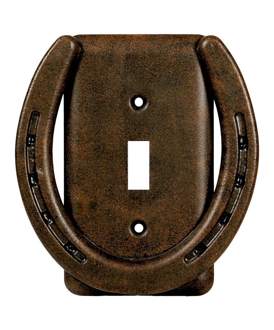 Rustic Light Switch Covers Another Great Find On Zulily River's Edge Products  Horseshoe