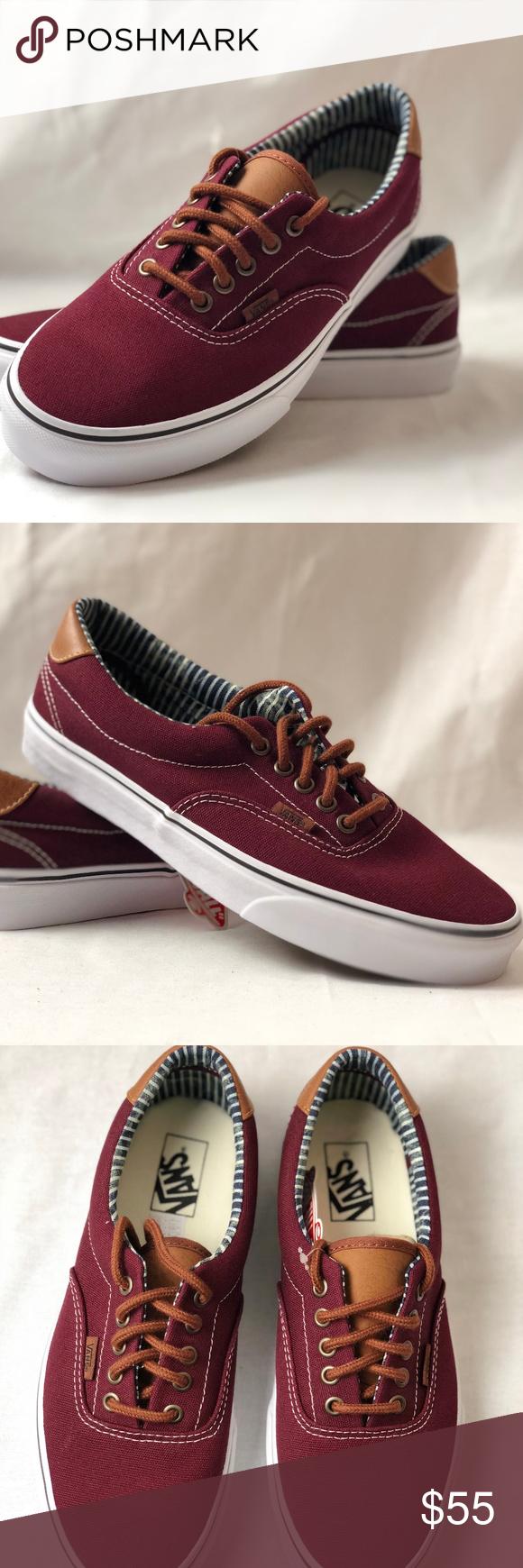 d8a78ccbf2 Vans Unisex Era 59 C L Port Royale Stripe Denim Skate Shoes. Condition  New  with Box. Size  Women s 10.5