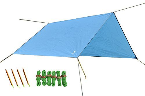 Geertop 9ft x 7ft (300 x 220 cm) Lightweight Waterproof Tent Tarp Rain Fly  sc 1 st  Pinterest & Geertop 9ft x 7ft (300 x 220 cm) Lightweight Waterproof Tent Tarp ...