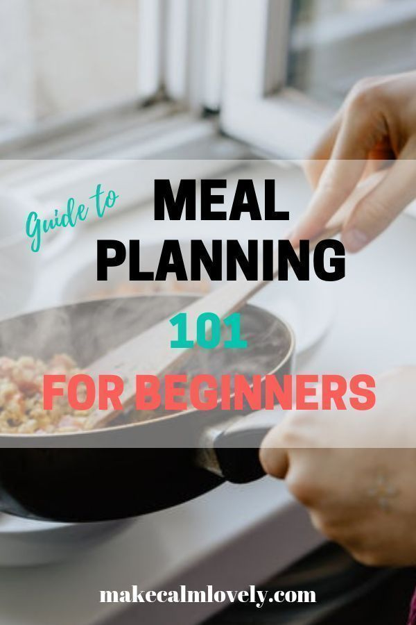 Meal Planning 101 for Beginners images