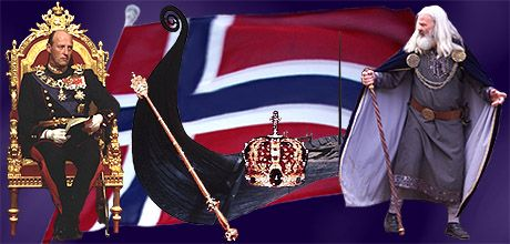 The Kings of Norway throughout time.