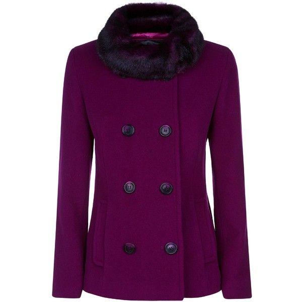 Precis Petite Short Wool Coat (585 BRL) ❤ liked on Polyvore ...