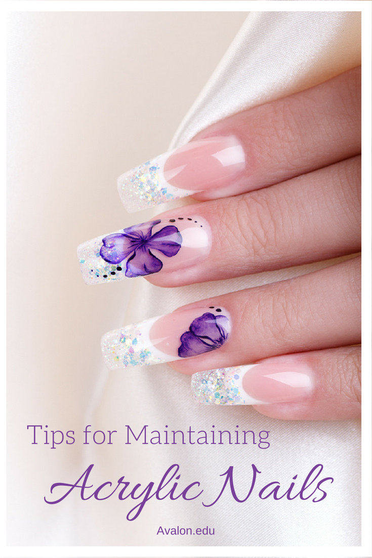 Tips For Maintaining Acrylic Nails