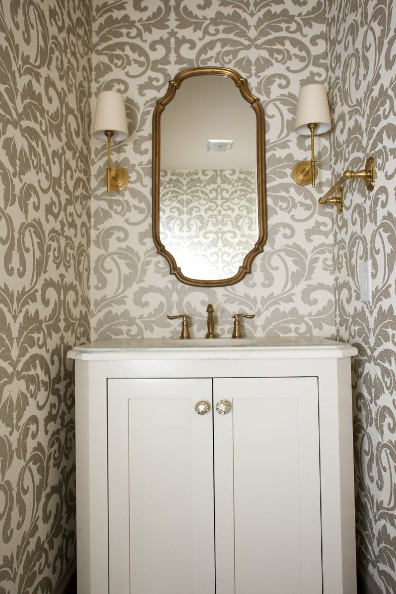 House Beautiful: Gorgeous Home Spaces   Beautiful space, Powder room ...