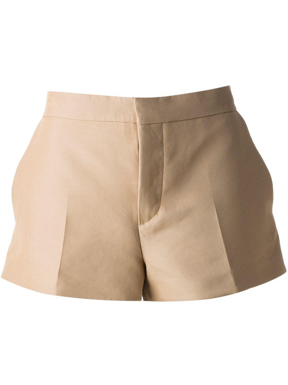 MARNI - Beige Pleated Shorts