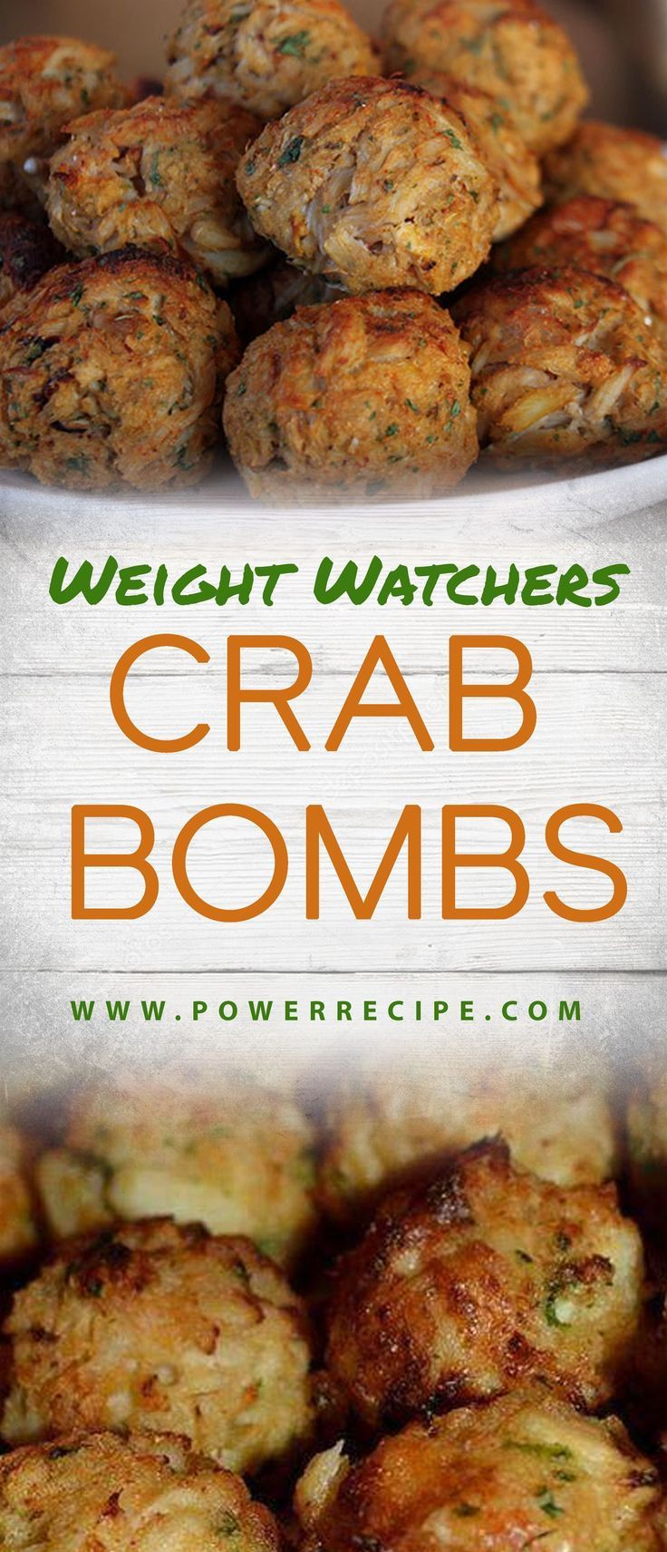Best Crab Bombs (Weight Watchers)