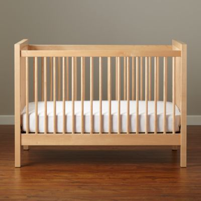 Baby Cribs: Natural Andersen Baby Crib in Cribs Bassinets - Andersen Crib (Maple) The Land Of Nod Baby, This Is Reality