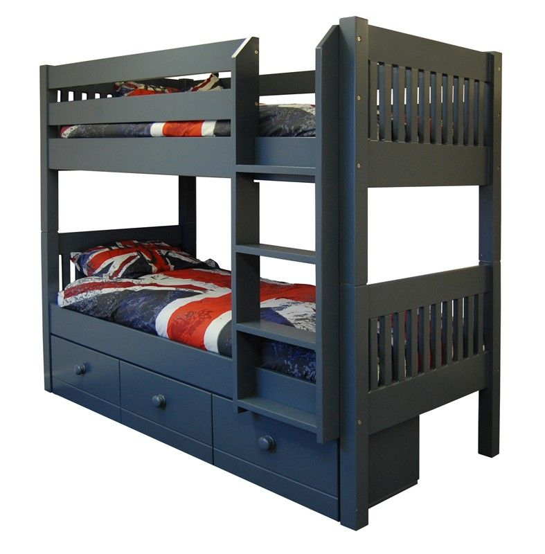 Majestical Painted Bunk Beds Painted Bunk Beds Bunk Beds With Storage Bunk Bed Designs