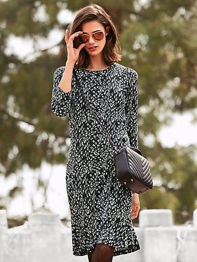 Jersey-Kleid mit 3/4 Arm | Kleid mit ärmel, Kleider, Modestil