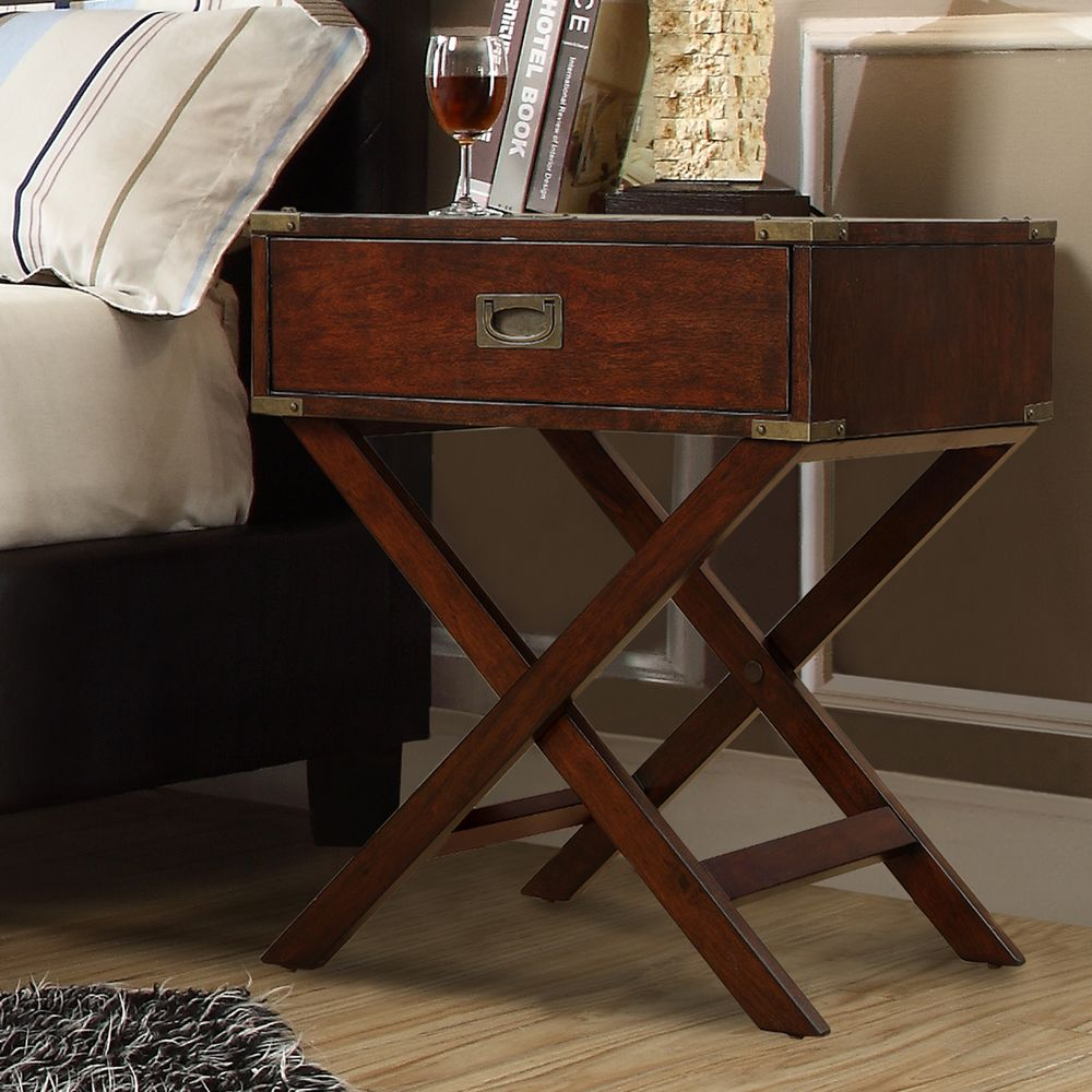 INSPIRE Q Kenton X Base Wood Accent Table | Overstock Shopping - Great  Deals on