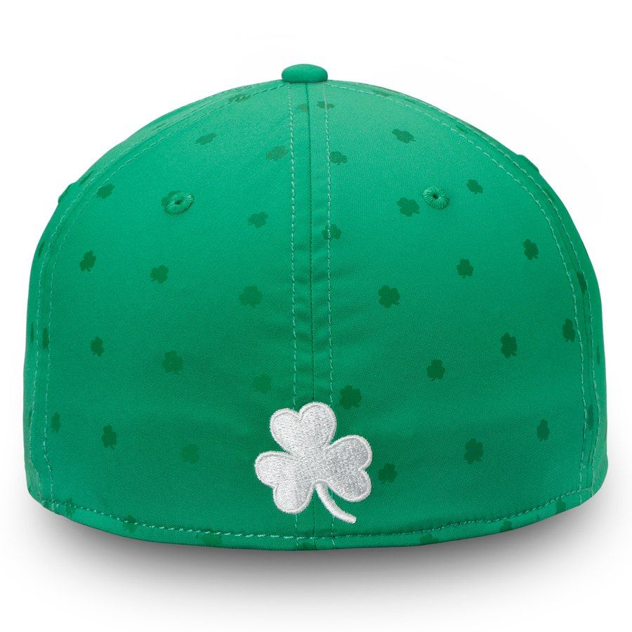 ebacde2a5d5 Vegas Golden Knights Fanatics Branded St. Patrick s Day Speed Flex Hat –  Green