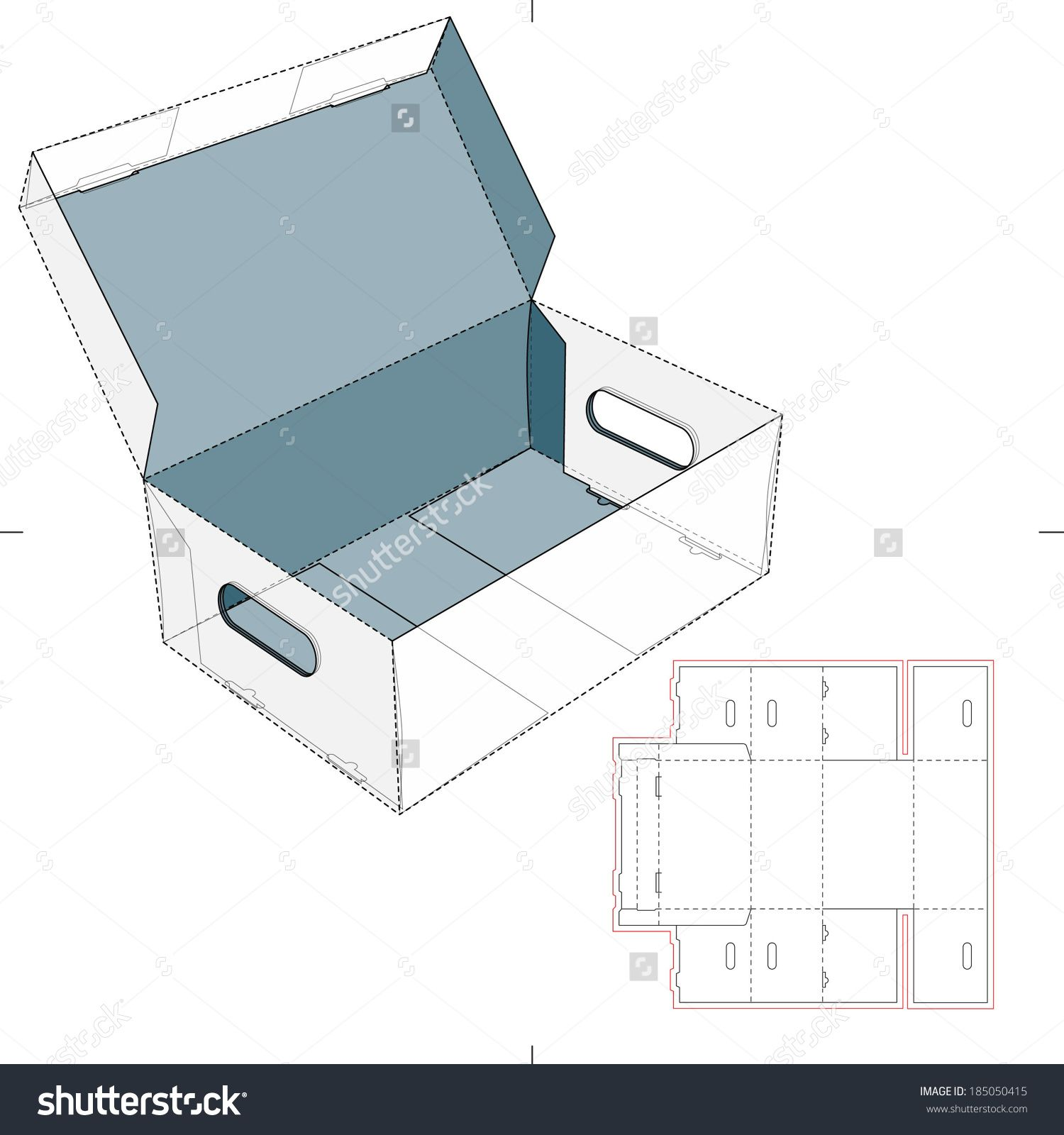 Pin On Vector Boxes And Packaging Templates With Dielines