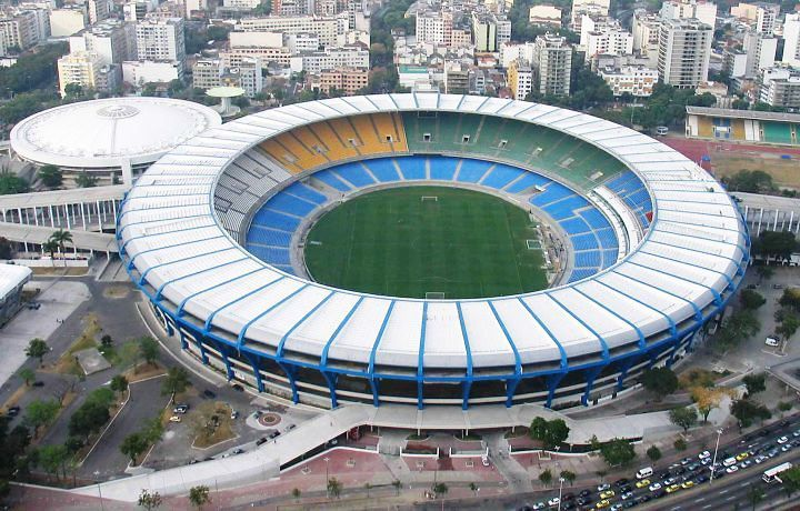 Maracana Stadium Image Credit Http Bit Ly 1noku6u Football Stadiums Stadium Soccer Stadium