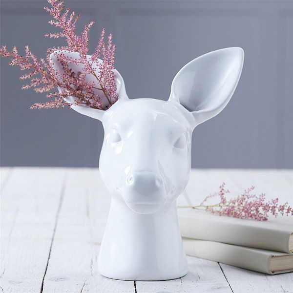 Tesco direct deer head vase