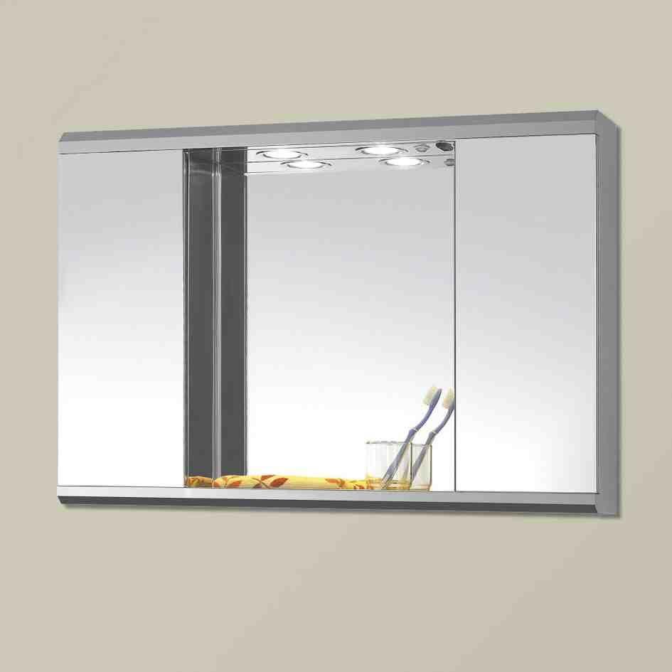Mirror Cabinet for Bathroom | Bathroom Mirror Cabinets | Pinterest ...