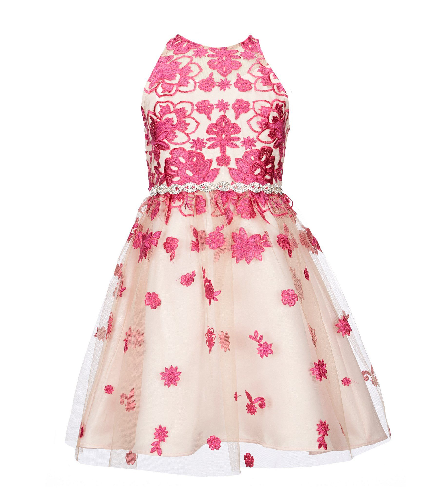 7b2029b156a Shop for Rare Editions Big Girls 7-16 Scattered-Embroidered A-Line Dress at  Dillards.com. Visit Dillards.com to find clothing