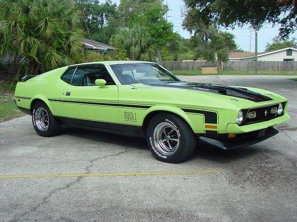 1971 Ford Mustang Mach 1 Ford Mustang Mustang 1971 Ford Mustang