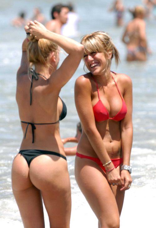 Beauty blonde show sweet big tits
