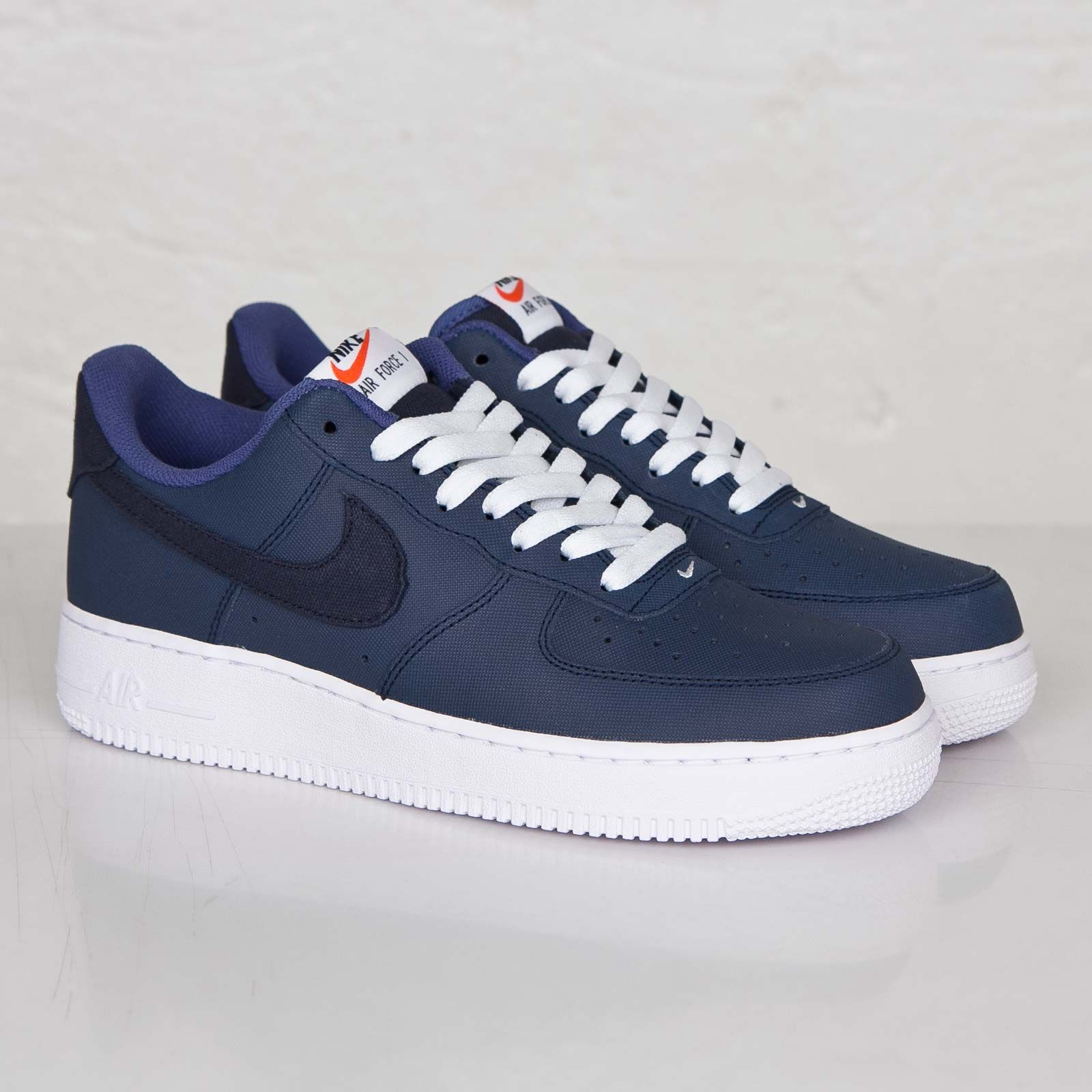 new concept a1e77 edc63 Nike Air Force 1 Low – Obsidian  White-Blue Legend  Air 23