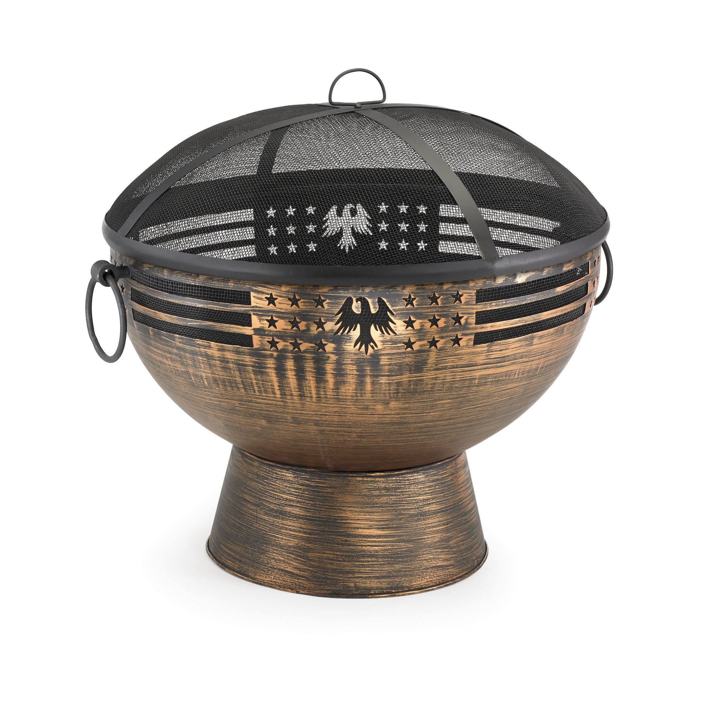 Good Directions Oversized Eagle Fire Bowl with Spark
