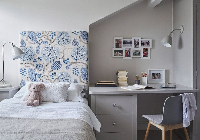 Small Kids Bedroom with Desk. Small Kids Bedroom with Desk Layout ...