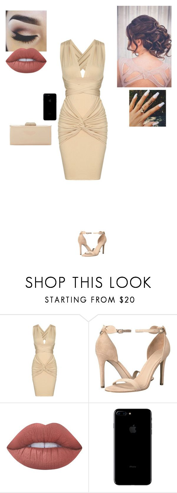 """""""MTV After Party"""" by sonialicetmartinez ❤ liked on Polyvore featuring GUESS, Lime Crime and Dune"""