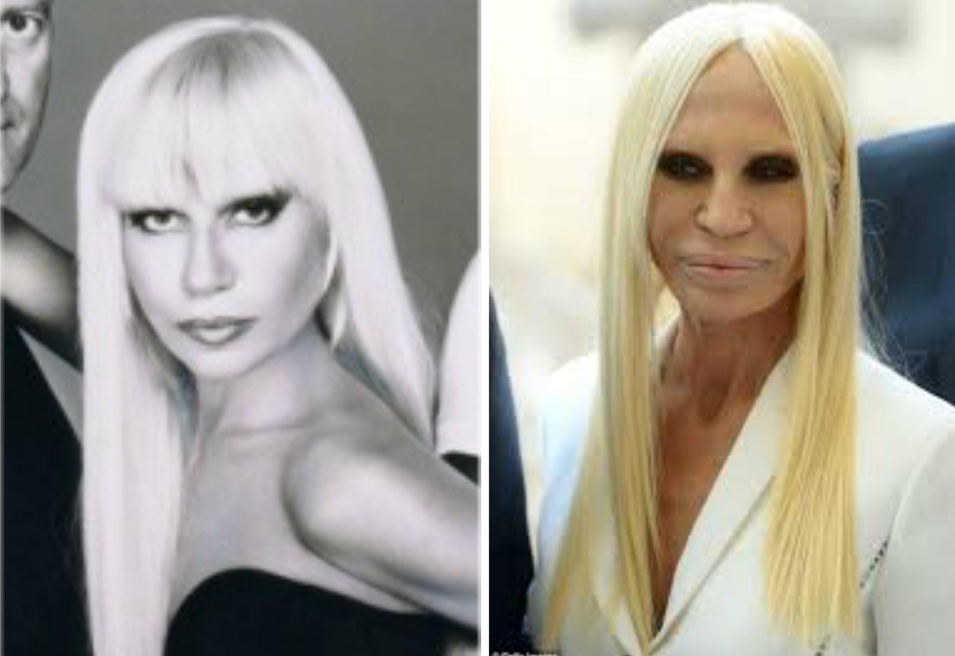 Donatella Versace Donatella Versace Eye Candy People