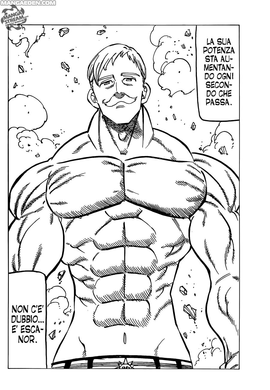 Leggere Nanatsu no tazai 149 Online Gratis in Italiano: La magia di Galan - page 17 - Manga Eden