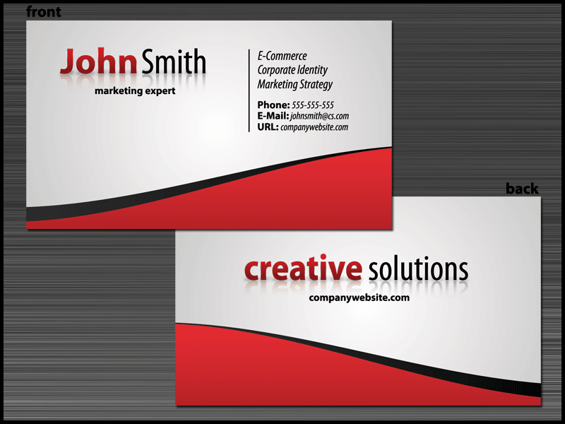 Things To Remember For Creating Great Business Cards Business - Design your own business card template