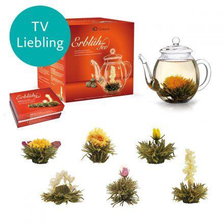 Creano Erblüh Tee Geschenk Set Weißer Tee Tee Geschenke