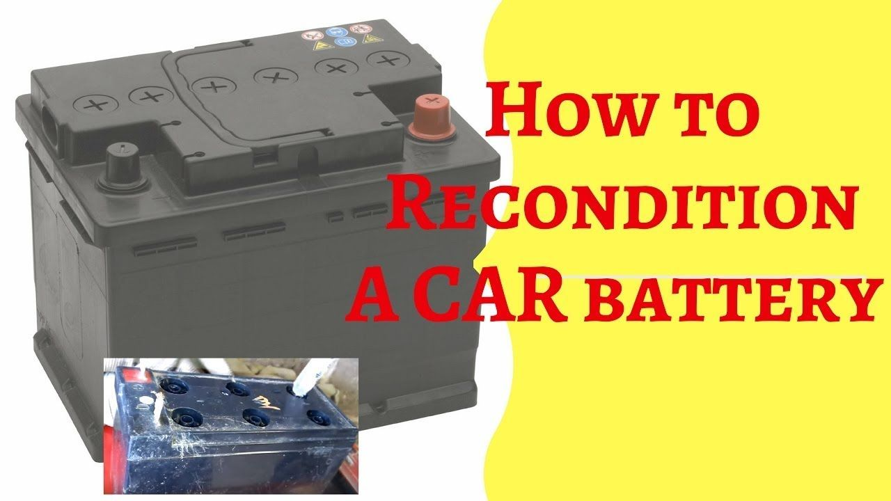 How to recondition car batteryEZ Battery Reconditioning