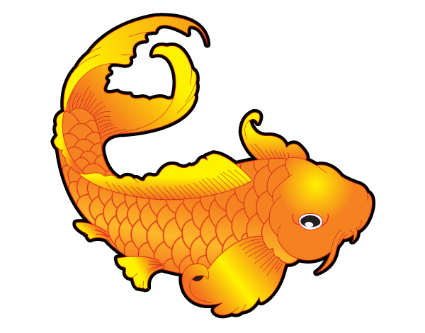 Free Japanese Koi Fish Vector Art | Japanese Vectors | Pinterest ...