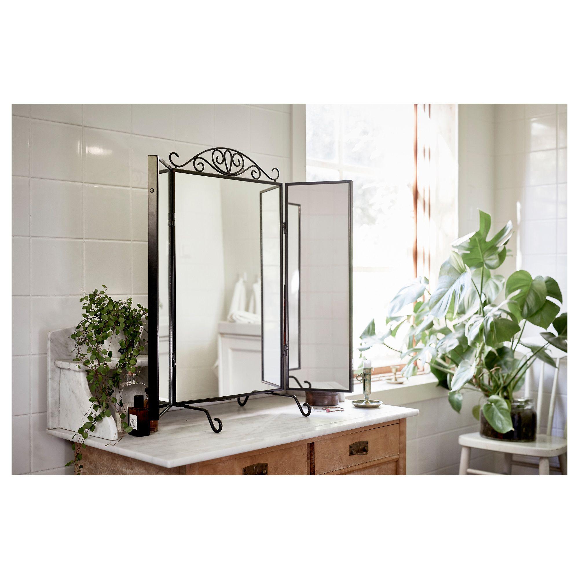 Ikea Karmsund Table Mirror Black Quick Saves Pomysły