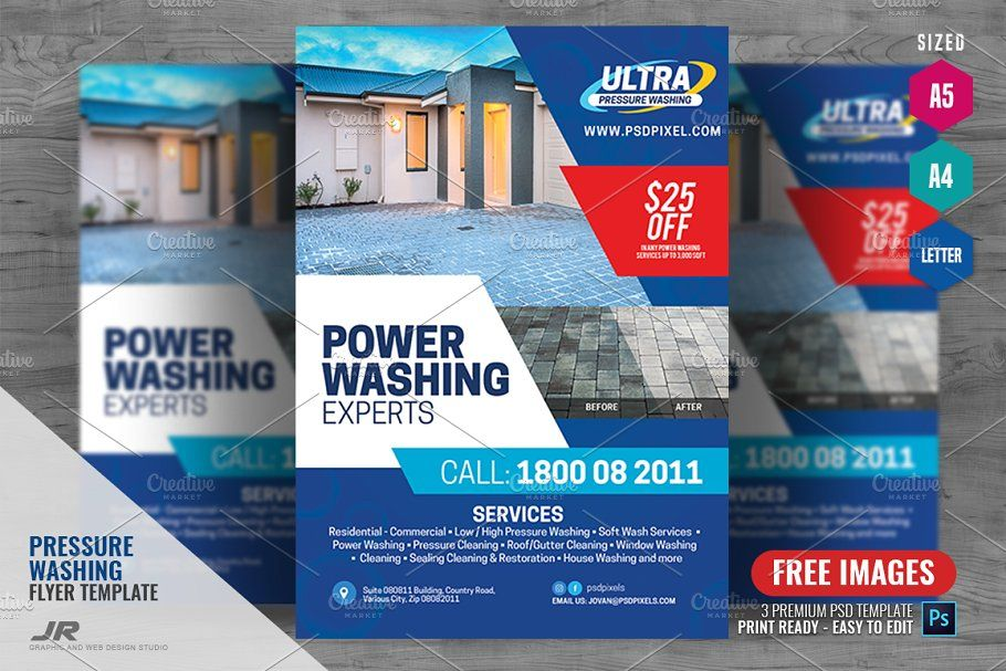 Pressure Cleaning Flyer Professional Business Cards Templates Cleaning Flyers Flyer