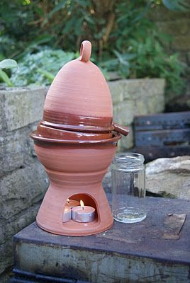 Pottery Alembic - for distilling things (similar to that seen in Tales from the Green Valley)
