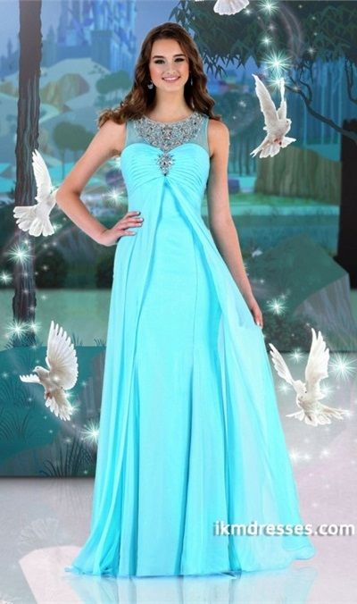 http://www.ikmdresses.com/2014-Scoop-Neckline-Tulle-Back-Beaded-Prom-Dress-A-Line-Chiffon-Sweep-Train-p84820