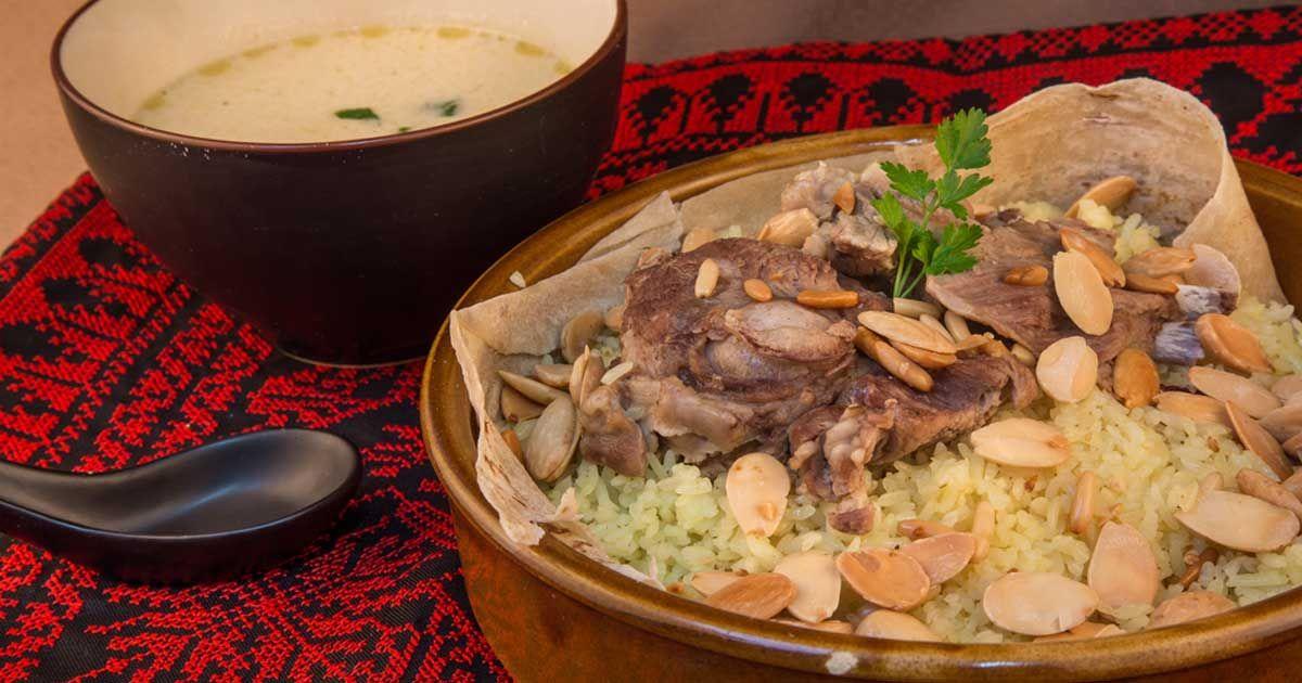طريقة المنسف الاردني Recipe Mediterranean Recipes Syrian Food Cooking Recipes