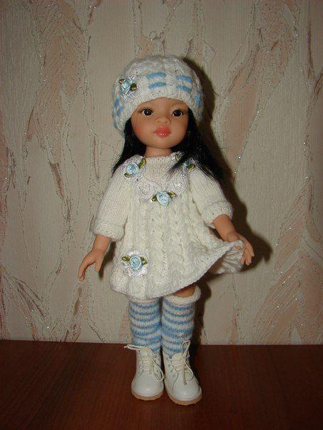 Испанские куклы Paola Reina   Одежда для кукол, Детские платья, Куклы
