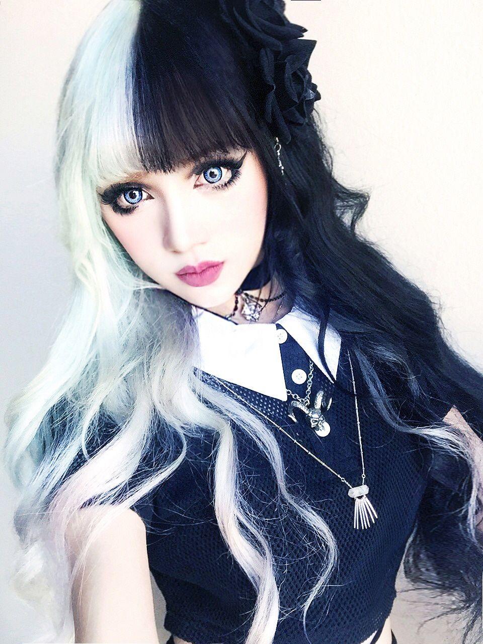 Kina Shen Styles de coiffures, Beauté gothique et Filles