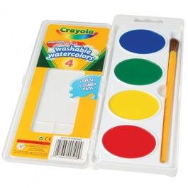 Crayola So Big Washable Watercolors Children Of All Ages Can