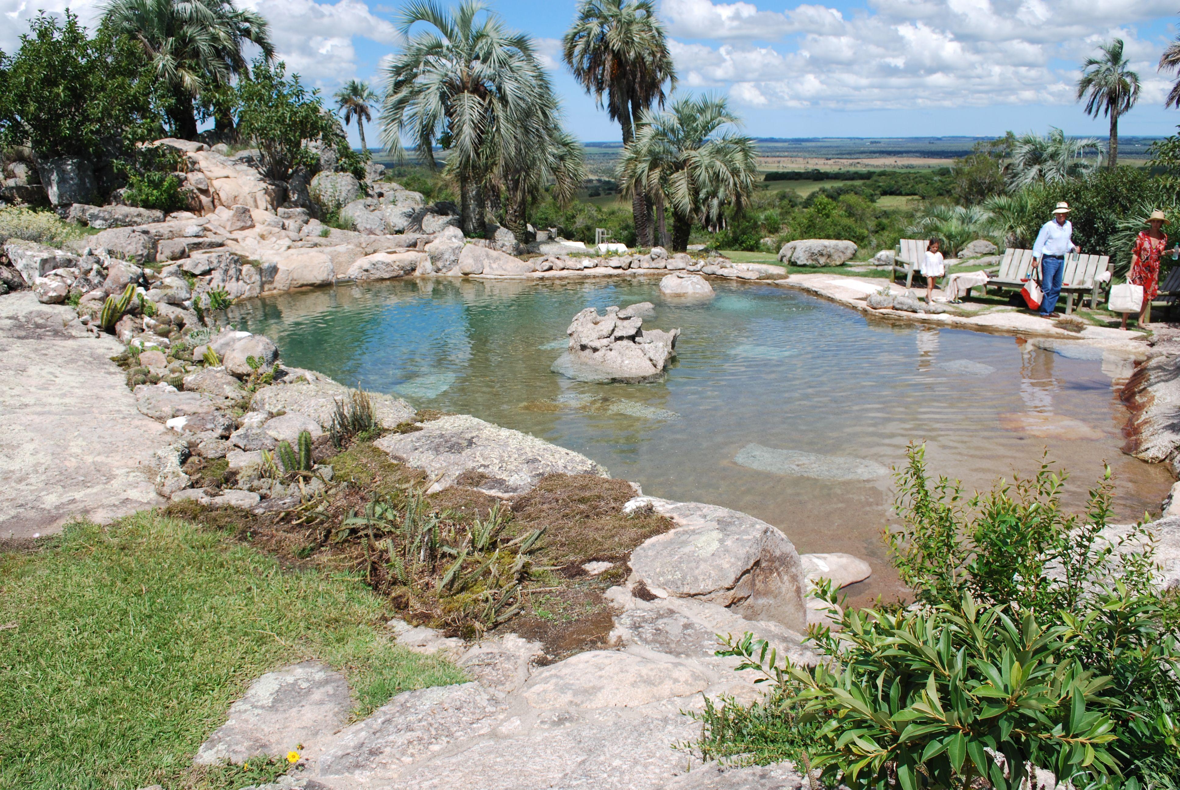 Piscina Pool Pileta En Castillos Uruguay Por El Artista Y Paisajista Martin Braun Foto Estudio Amalia Robredo Paisajes Piscinas Jardines