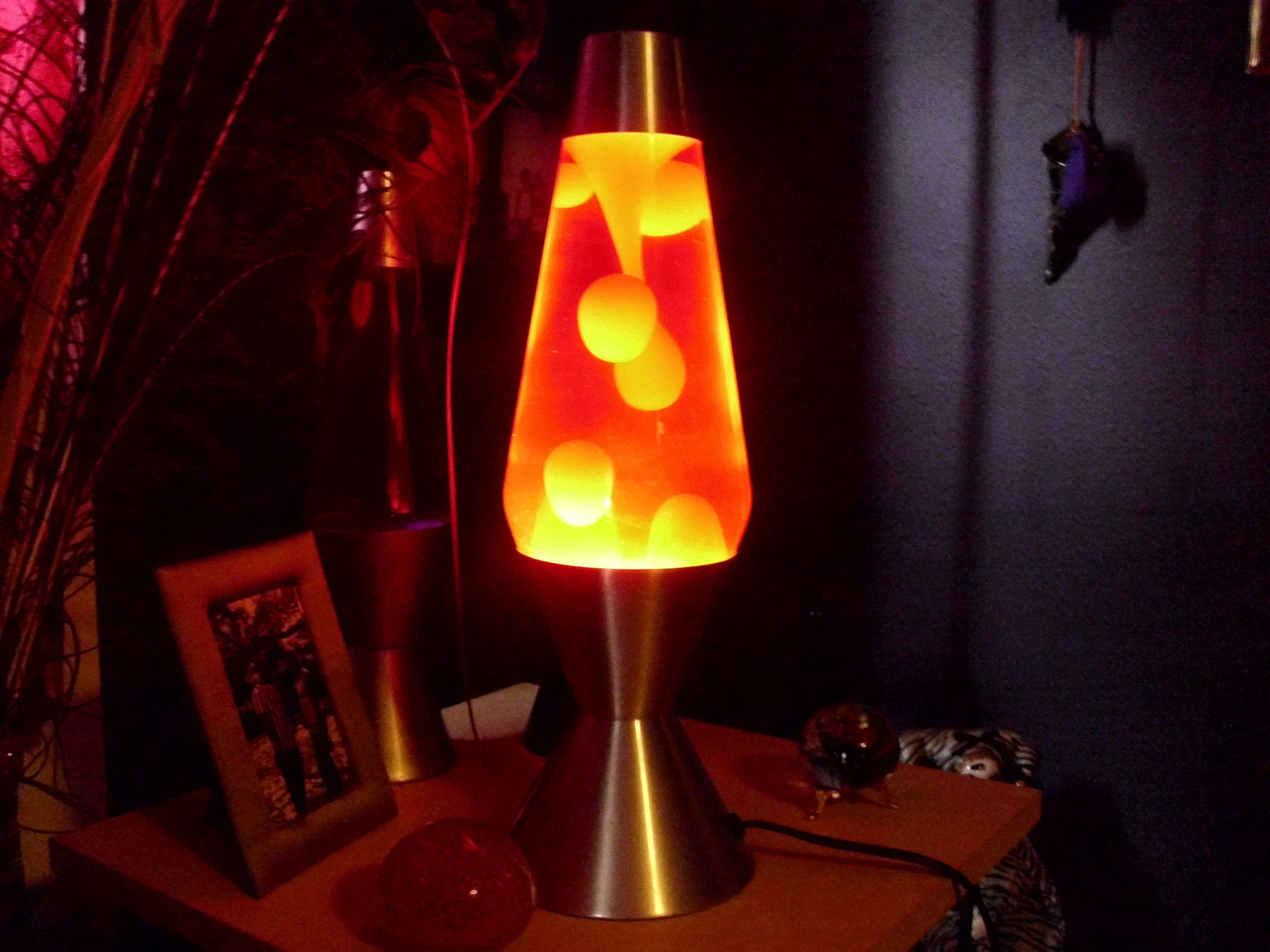 Lava lamp overnight - Lightning Lavalamp