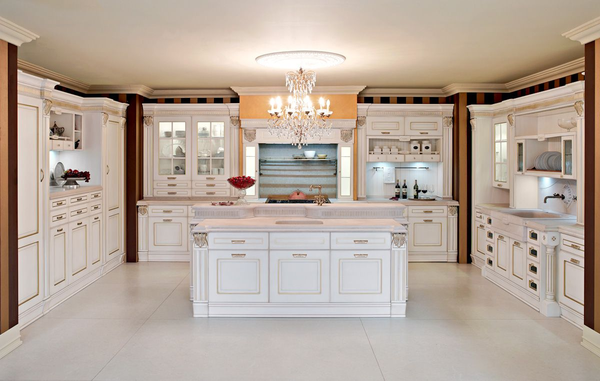 Traditional italian kitchen from aran cucine 39 s imperial for Aran world kitchen cabinets