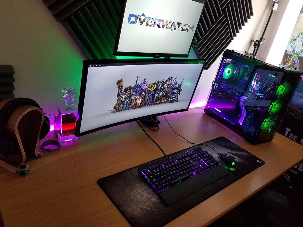 Ryzen ultrawide setup, the wait for vega continues. soon™ : battlestations
