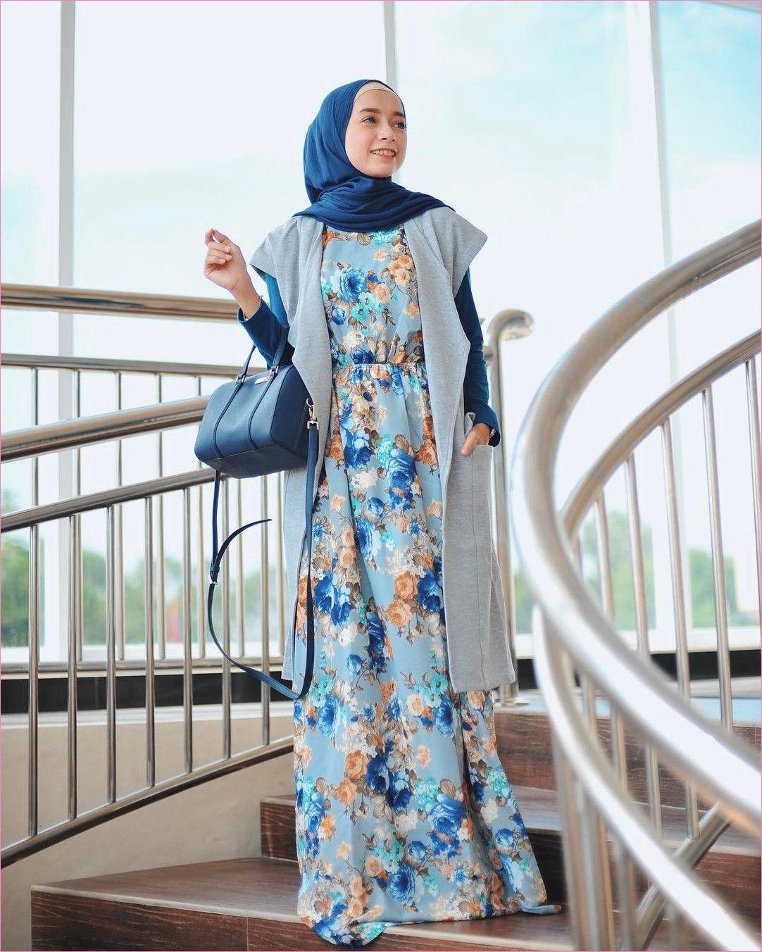 Model Baju Gamis Batik Populer 10  Model baju wanita, Busana