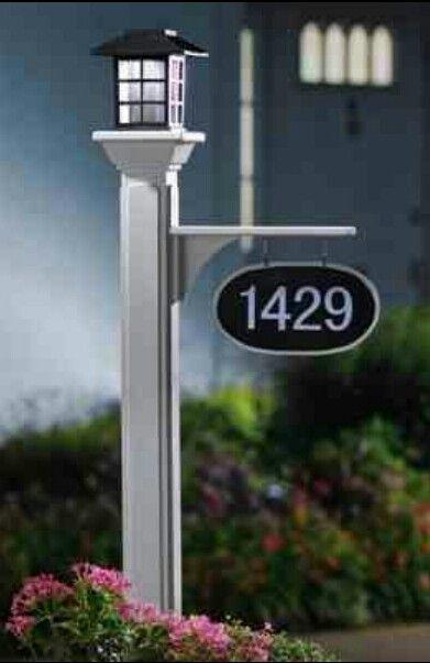 Solar Light Address Post Solar Lamp Post Solar Lamp Post Lights