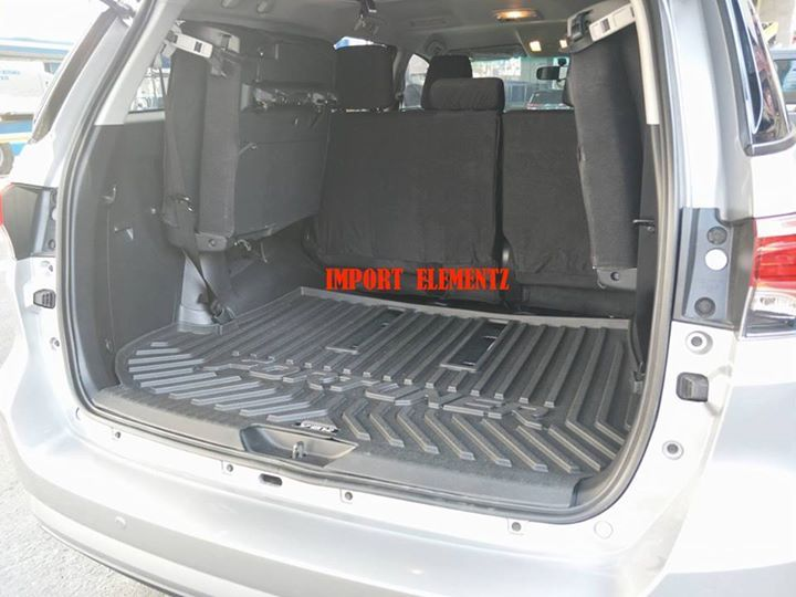 Installed On 2016 To 2017 Toyota Fortuner Cargo Tray Or Luggage Tray Large Size With Hump Cover 1 700 Free Labor Outdoor Store Installation Large Size