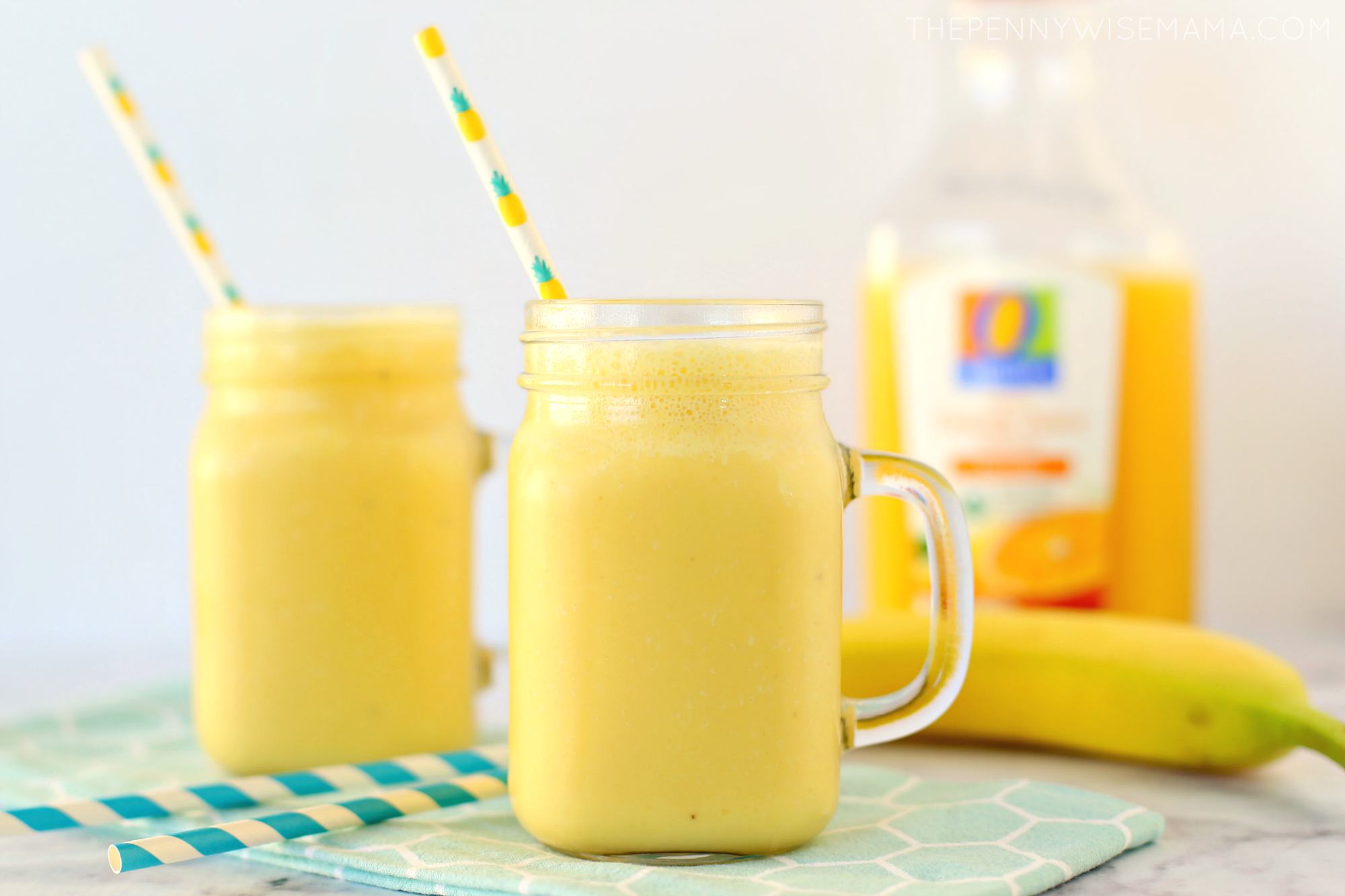 Mango Orange Banana Cold Buster Smoothie (With images