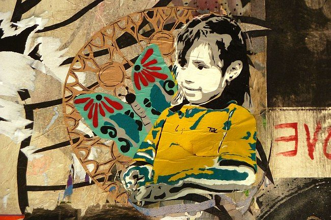 Berlin - Street Art II: Intimes Kino